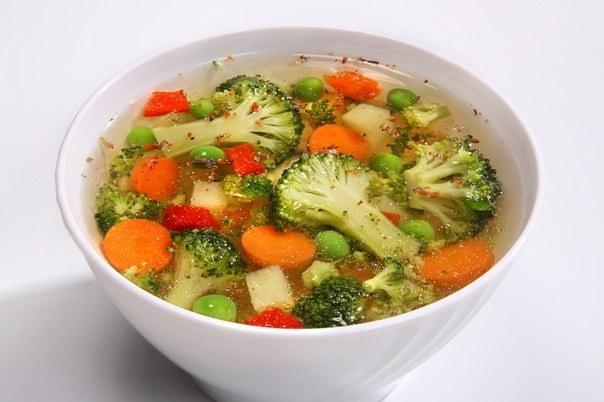 Овощной Суп Для Похудения Брокколи.