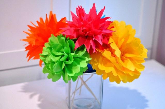 Красивые поделки из бумаги: цветы и цветочные украшения ...  Красивые Поделки из Бумаги И Как Их Делать