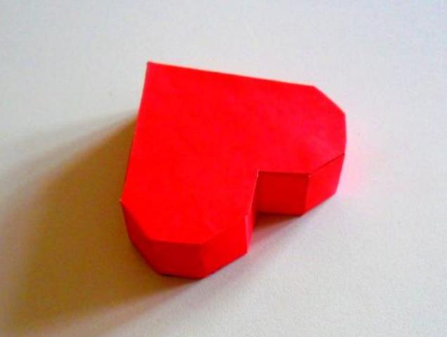 Как сделать коробочку в виде сердца