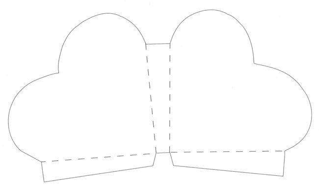 Коробочка сердце из картона своими руками схемы 53