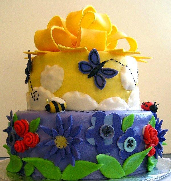 Как сделать украшение торта из карамели