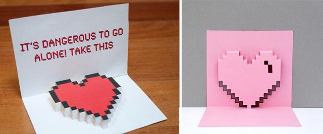 Любви любимому, как сделать объемную открытку сердечко