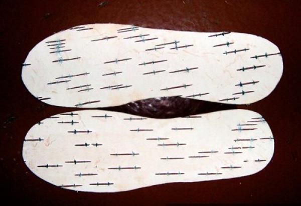 Стельки из бересты