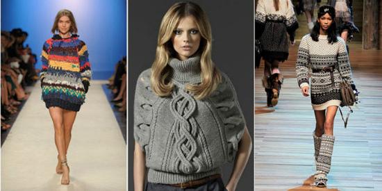 Безразмерный свитер