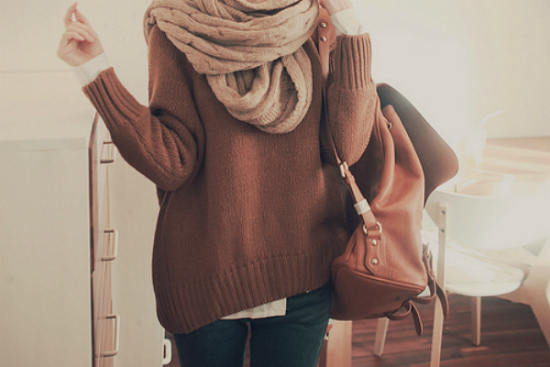 мешковатый свитер