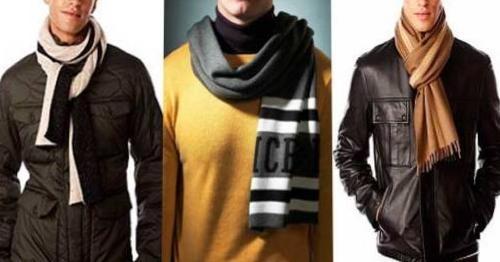 как завязать шарф мужчине
