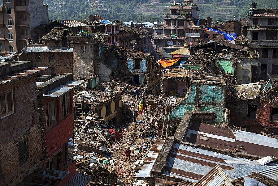 Землетрясение в Непале 2015 год