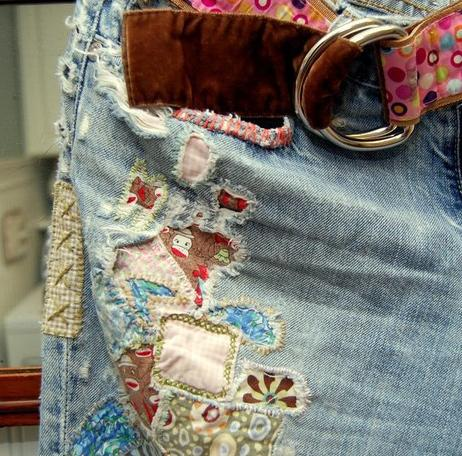 Как красиво отремонтировать одежду?
