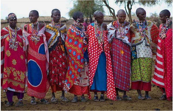 масаи в Амбосели