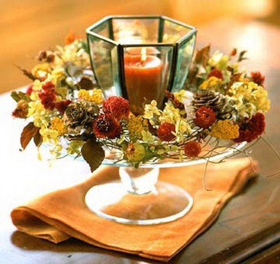 Яркая осень в интерьере: 5 простых идей для украшения дома природными материалами