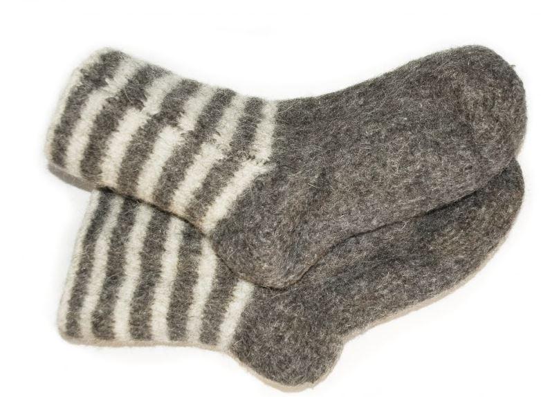 Как быстро связать носки спицами