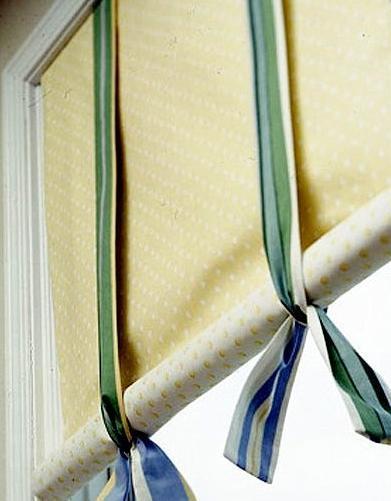 Шьем рулонные шторы своими руками