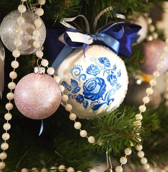 Новогодний шар, сделанный своими руками