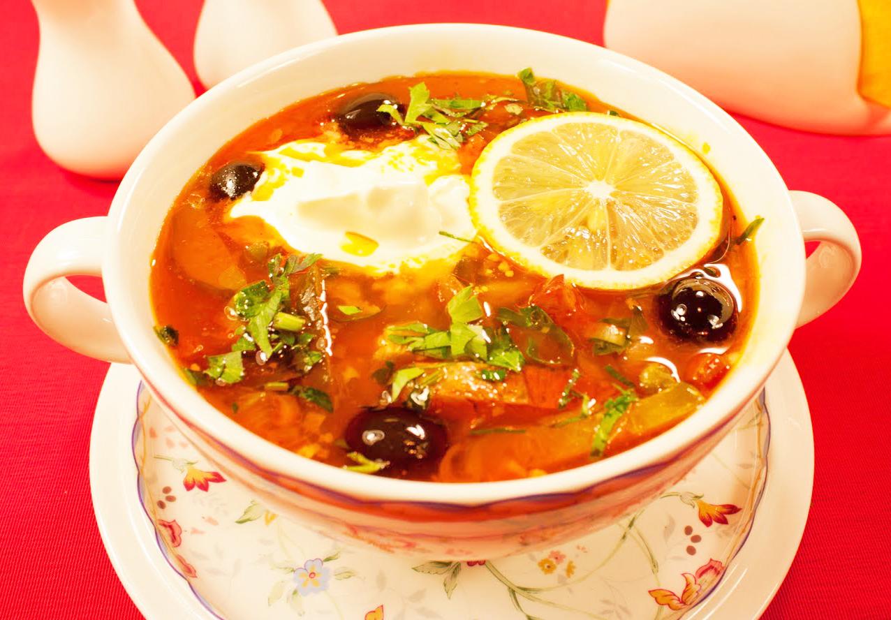 Рецепт суп солянка сборная пошагово с