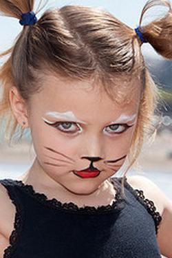 Макияж для костюма кошки