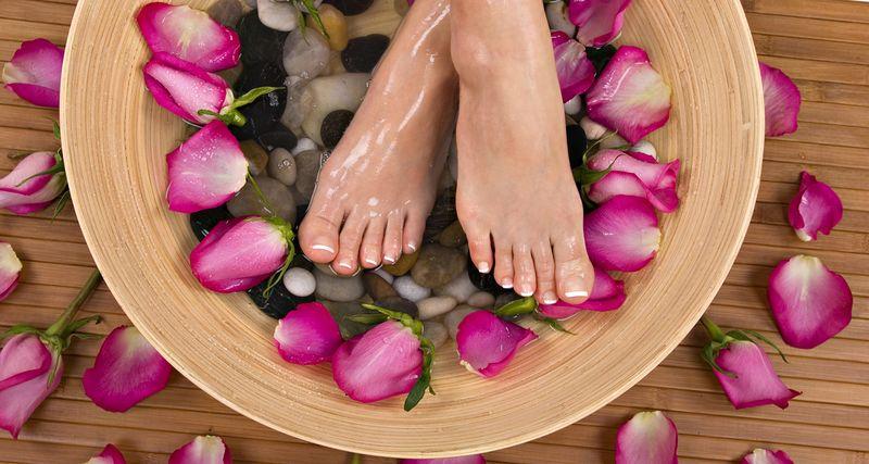теплые ванночки для ног в домашних условиях