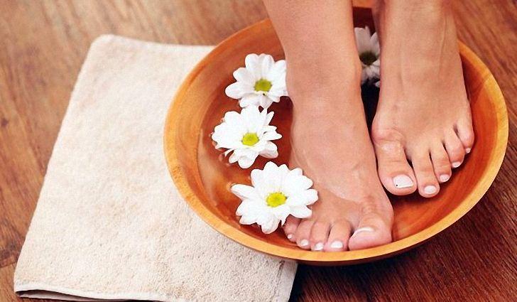 холодные ванночки для ног в домашних условиях