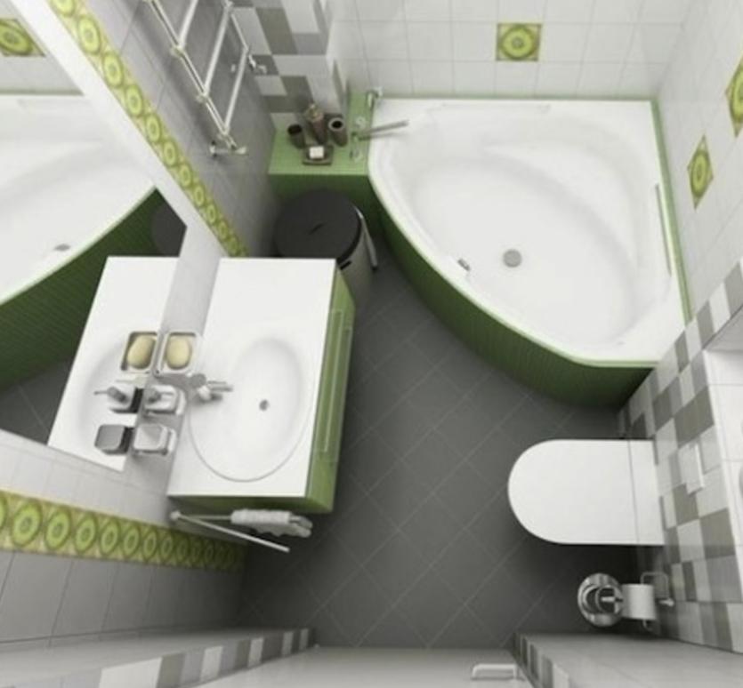 Как обустроить маленькую ванную комнату: несколько примитивных идей