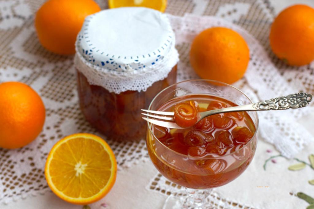 Домашнее варенье из апельсиновых корок