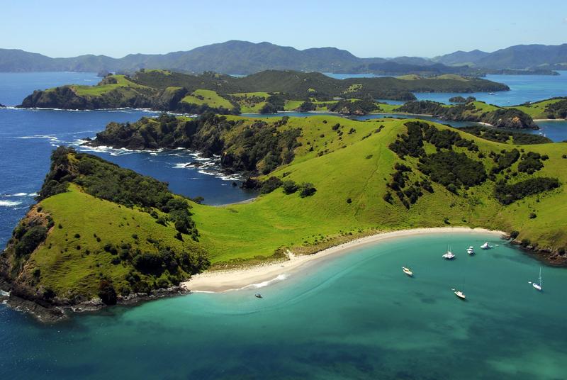 новая зеландия море
