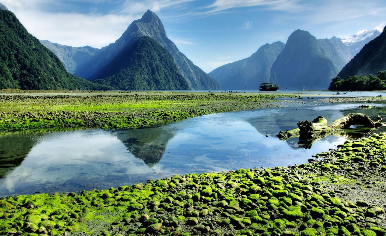 новая зеландия география