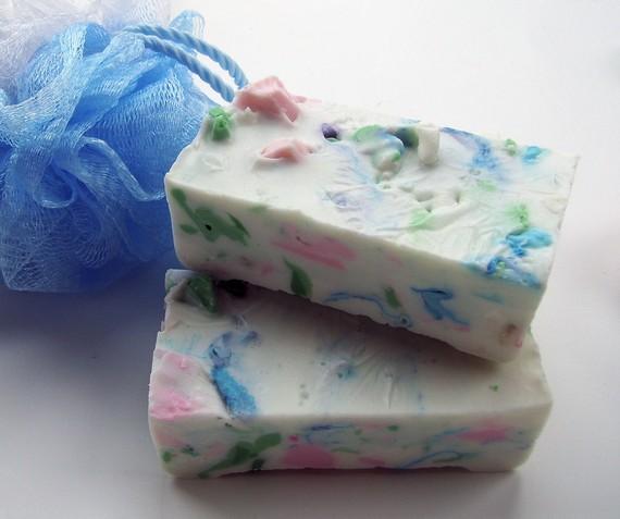 твердое мыло из обмылков