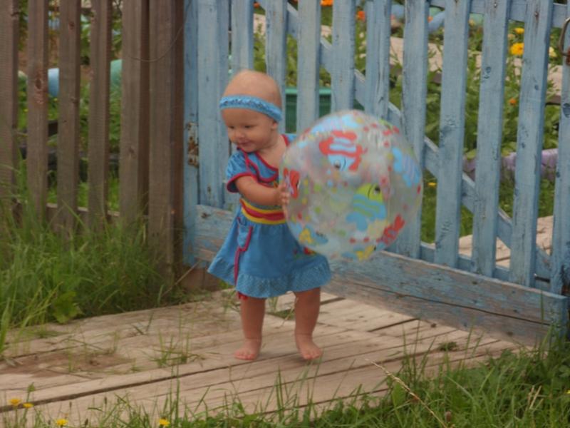 Дети очень любят играть с шарамми
