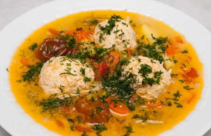 шарики из фарша в суп рецепт с фото