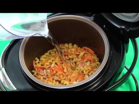 В мультиварке можно приготовить вкусные макароны