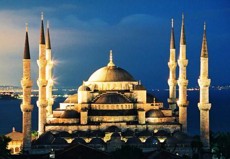 Мечеть Султанахмед или Голубая мечеть