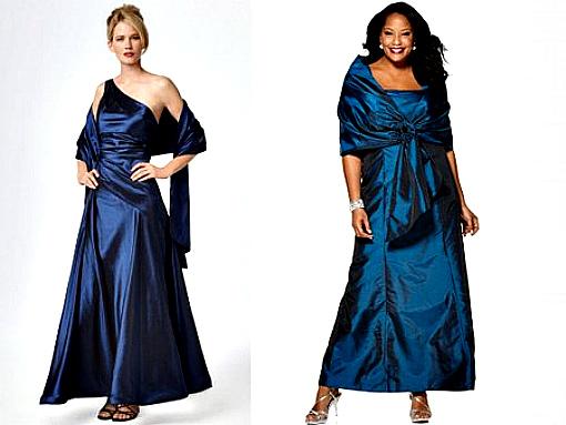 Накидки к вечерним платьям