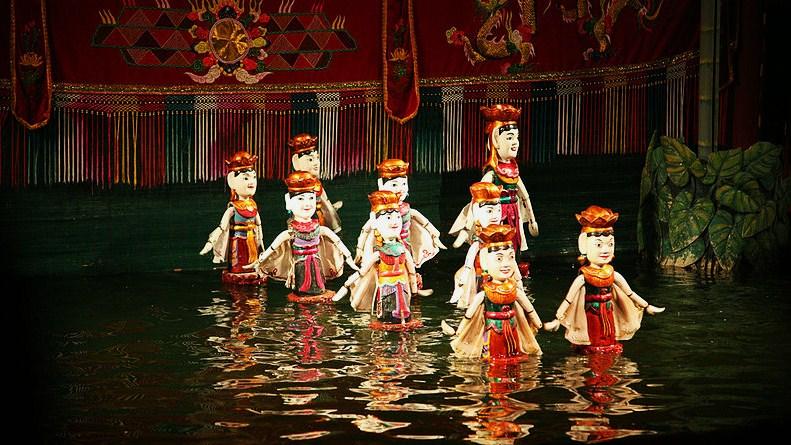 кукольный театр на воде Хошимина