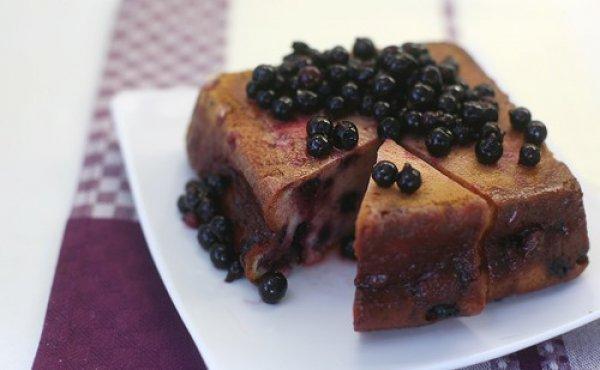 Пирог из замороженной смородины рецепт