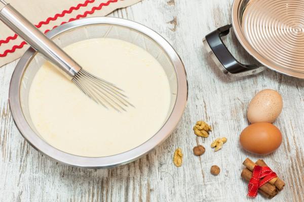 Как сделать тесто для блинчиков на молоке фото 121