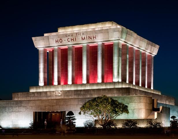 Мавзолей и музей Хо Ши Мина