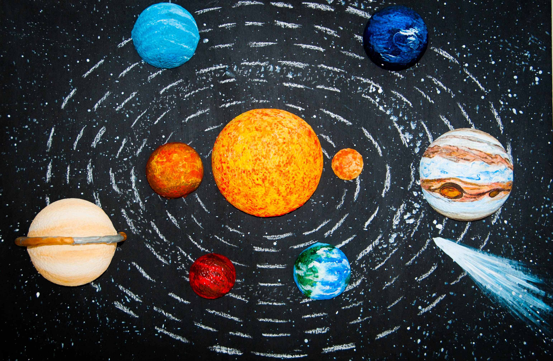 Макет планет солнечной системы своими руками фото