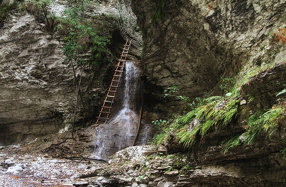 Аргунские водопады