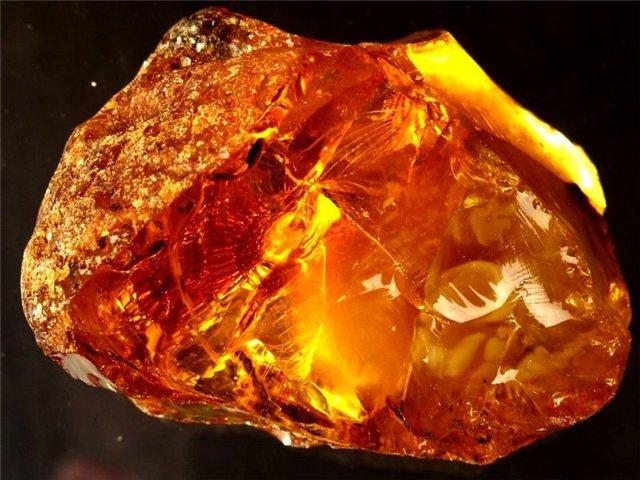 Янтарь - камень для льва