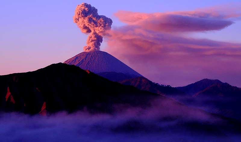 volcano Semeru