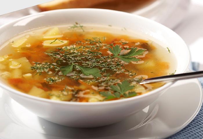 Рецепт щей с щавелем, крапивой и яйцом