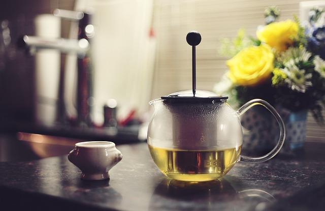 Зеленый чай имеет высокое содержание антиоксидантов