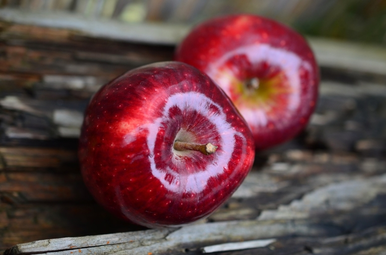Яблоки богаты антиоксидантами