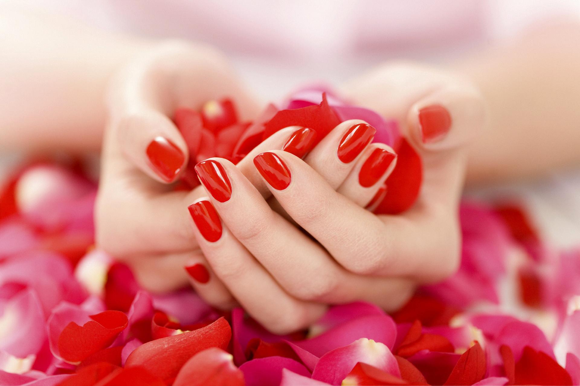 Маникюр женских ногтей в картинках