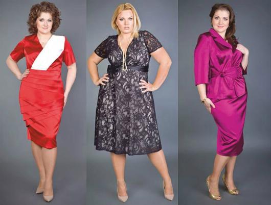 Модные платья для полных женщин на свадьбу