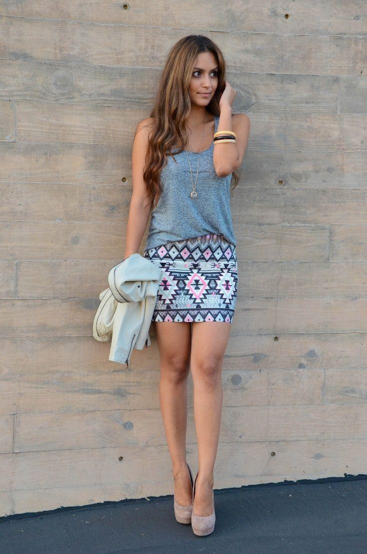 красивые мини юбки