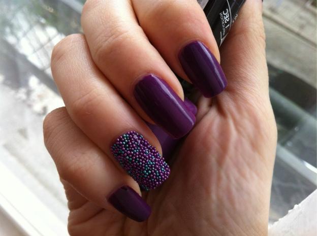 Caviar manicure, photo