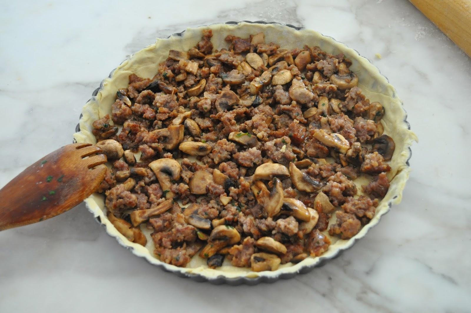 рецепт запеканки с грибами