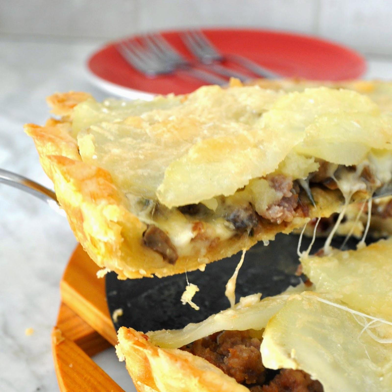запеканка из картофеля с сыром