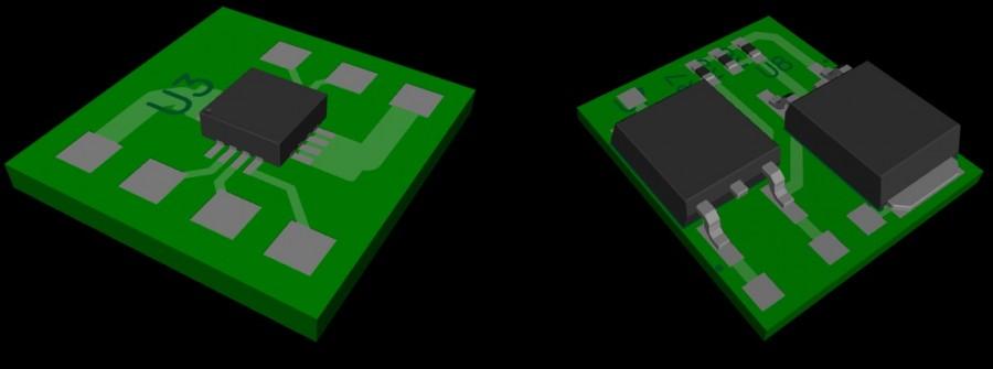 3D model of the future board