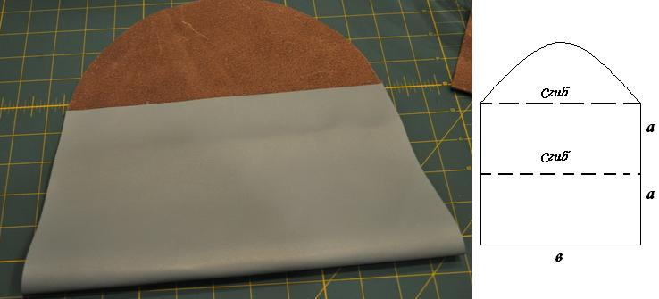 Как своими руками сшить клатч-конверт